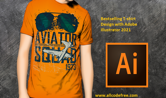 bestselling-t-shirt-design-with-adobe-illustrator-2021