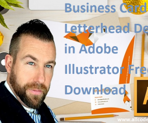 Business Card and Letterhead Design in Adobe Illustrator Free Download