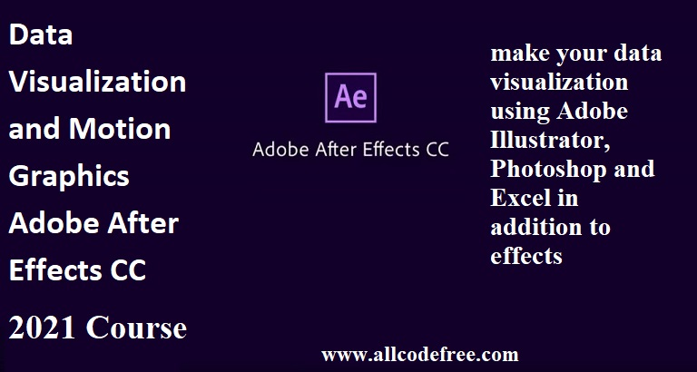 Data Visualization and Motion Graphics Adobe After Effects CC