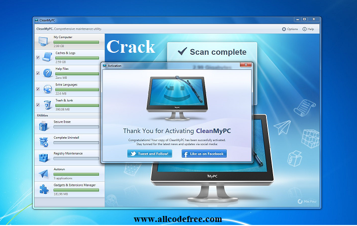 My Clean Pc Activation Code OR Mycleanpc License Key Download 2021