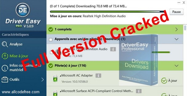 Driver Easy Pro Key Crack Latest Version Free (Updated) 2021
